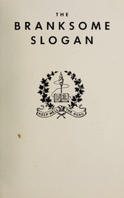 Page 3, 1952 Edition, Branksome Hall - Slogan Yearbook (Toronto, Ontario Canada) online yearbook collection