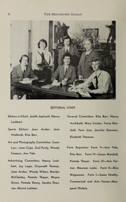 Page 8, 1952 Edition, Branksome Hall - Slogan Yearbook (Toronto, Ontario Canada) online yearbook collection