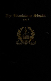 Page 1, 1965 Edition, Branksome Hall - Slogan Yearbook (Toronto, Ontario Canada) online yearbook collection