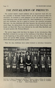 Page 12, 1965 Edition, Branksome Hall - Slogan Yearbook (Toronto, Ontario Canada) online yearbook collection