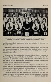 Page 13, 1965 Edition, Branksome Hall - Slogan Yearbook (Toronto, Ontario Canada) online yearbook collection