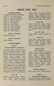 Page 14, 1965 Edition, Branksome Hall - Slogan Yearbook (Toronto, Ontario Canada) online yearbook collection