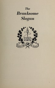 Page 3, 1965 Edition, Branksome Hall - Slogan Yearbook (Toronto, Ontario Canada) online yearbook collection