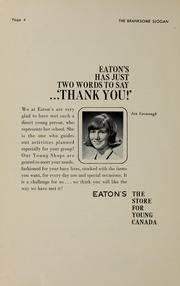 Page 6, 1965 Edition, Branksome Hall - Slogan Yearbook (Toronto, Ontario Canada) online yearbook collection