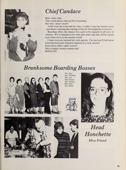 Page 86, 1986 Edition, Branksome Hall - Slogan Yearbook (Toronto, Ontario Canada) online yearbook collection