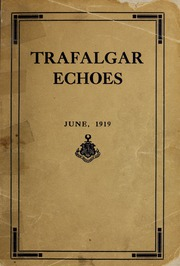 Trafalgar School - Echoes Yearbook (Montreal, Quebec Canada) online yearbook collection, 1919 Edition, Page 1