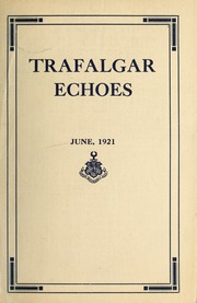 Trafalgar School - Echoes Yearbook (Montreal, Quebec Canada) online yearbook collection, 1921 Edition, Page 1