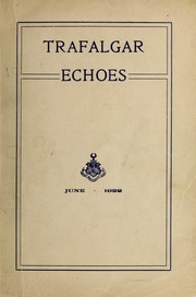 Trafalgar School - Echoes Yearbook (Montreal, Quebec Canada) online yearbook collection, 1922 Edition, Page 1