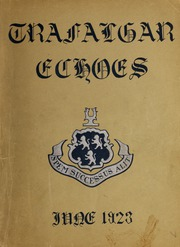 Trafalgar School - Echoes Yearbook (Montreal, Quebec Canada) online yearbook collection, 1923 Edition, Page 1