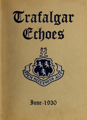 Trafalgar School - Echoes Yearbook (Montreal, Quebec Canada) online yearbook collection, 1930 Edition, Page 1