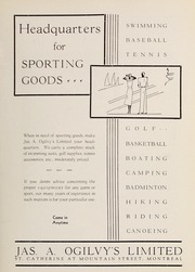 Page 7, 1933 Edition, Trafalgar School - Echoes Yearbook (Montreal, Quebec Canada) online yearbook collection