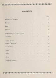 Page 11, 1935 Edition, Trafalgar School - Echoes Yearbook (Montreal, Quebec Canada) online yearbook collection