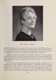 Page 17, 1942 Edition, Trafalgar School - Echoes Yearbook (Montreal, Quebec Canada) online yearbook collection