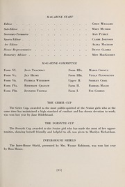 Page 17, 1945 Edition, Trafalgar School - Echoes Yearbook (Montreal, Quebec Canada) online yearbook collection