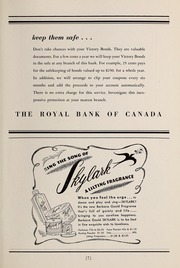Page 9, 1945 Edition, Trafalgar School - Echoes Yearbook (Montreal, Quebec Canada) online yearbook collection