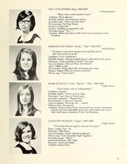 Page 15, 1969 Edition, Trafalgar School - Echoes Yearbook (Montreal, Quebec Canada) online yearbook collection