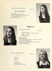 Page 13, 1971 Edition, Trafalgar School - Echoes Yearbook (Montreal, Quebec Canada) online yearbook collection