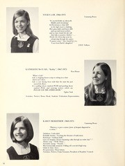 Page 14, 1971 Edition, Trafalgar School - Echoes Yearbook (Montreal, Quebec Canada) online yearbook collection