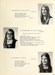 Page 15, 1971 Edition, Trafalgar School - Echoes Yearbook (Montreal, Quebec Canada) online yearbook collection