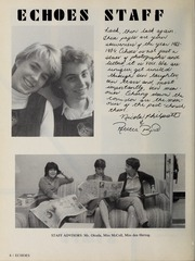 Page 10, 1984 Edition, Trafalgar School - Echoes Yearbook (Montreal, Quebec Canada) online yearbook collection
