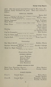 Page 17, 1913 Edition, Havergal College - Magazine Yearbook (Winnipeg, Manitoba Canada) online yearbook collection