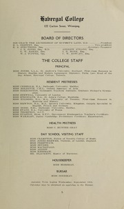 Page 7, 1913 Edition, Havergal College - Magazine Yearbook (Winnipeg, Manitoba Canada) online yearbook collection