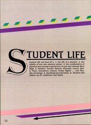 Page 16, 1988 Edition, West High School - Chieftain Yearbook (Torrance, CA) online yearbook collection