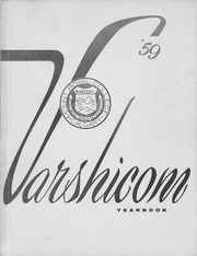 Mount Royal College - Varshicom Yearbook (Calgary, Alberta Canada) online yearbook collection, 1959 Edition, Page 1