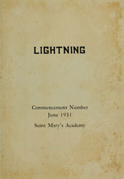 Page 5, 1931 Edition, St Marys Academy - Illuminatio Yearbook (Inglewood, CA) online yearbook collection