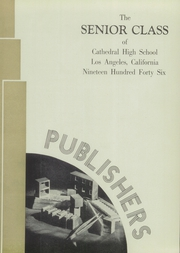 Page 9, 1946 Edition, Cathedral High School - Chimes Yearbook (Los Angeles, CA) online yearbook collection