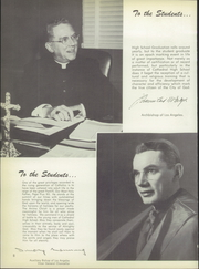 Page 12, 1956 Edition, Cathedral High School - Chimes Yearbook (Los Angeles, CA) online yearbook collection