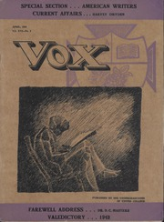 United Colleges - Vox Yearbook (Winnipeg, Manitoba Canada) online yearbook collection, 1943 Edition, Page 1