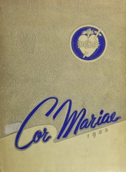 Page 1, 1953 Edition, Immaculate Heart of Mary High School - Cor Mariae Yearbook (Los Angeles, CA) online yearbook collection
