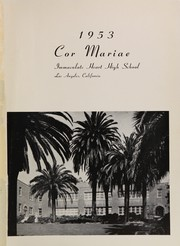 Page 5, 1953 Edition, Immaculate Heart of Mary High School - Cor Mariae Yearbook (Los Angeles, CA) online yearbook collection