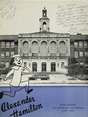 Page 5, 1958 Edition, Alexander Hamilton High School - Castilians Yearbook (Los Angeles, CA) online yearbook collection
