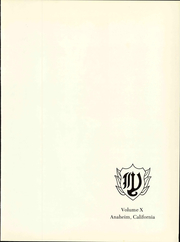 Page 7, 1967 Edition, Western High School - Pioneer Yearbook (Anaheim, CA) online yearbook collection