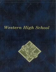 Page 1, 1985 Edition, Western High School - Pioneer Yearbook (Anaheim, CA) online yearbook collection