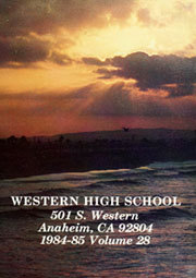 Page 5, 1985 Edition, Western High School - Pioneer Yearbook (Anaheim, CA) online yearbook collection