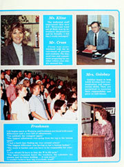 Page 9, 1985 Edition, Western High School - Pioneer Yearbook (Anaheim, CA) online yearbook collection