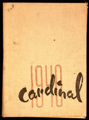 Page 1, 1940 Edition, Covina High School - Cardinal Yearbook (Covina, CA) online yearbook collection