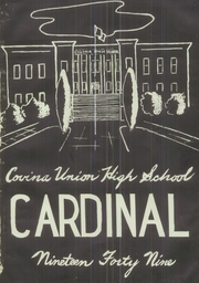 Page 5, 1949 Edition, Covina High School - Cardinal Yearbook (Covina, CA) online yearbook collection