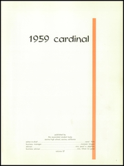 Page 5, 1959 Edition, Covina High School - Cardinal Yearbook (Covina, CA) online yearbook collection