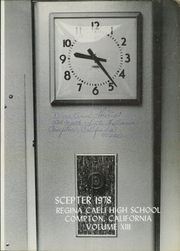 Page 5, 1978 Edition, Regina Caeli High School - Scepter Yearbook (Compton, CA) online yearbook collection