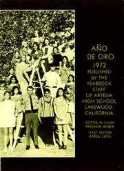 Page 5, 1972 Edition, Artesia High School - Ano de Oro Yearbook (Lakewood, CA) online yearbook collection