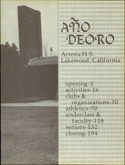 Page 7, 1973 Edition, Artesia High School - Ano de Oro Yearbook (Lakewood, CA) online yearbook collection