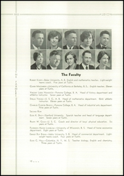 Page 14, 1933 Edition, Tustin High School - Audion Yearbook (Tustin, CA) online yearbook collection