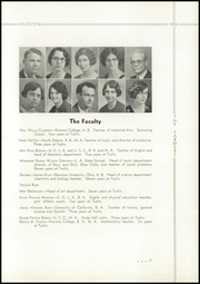 Page 15, 1933 Edition, Tustin High School - Audion Yearbook (Tustin, CA) online yearbook collection