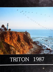 1987 Edition, Palos Verdes High School - Triton Yearbook (Palos Verdes Estates, CA)