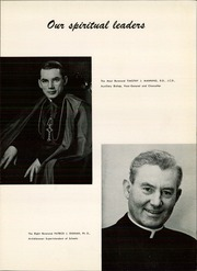Page 13, 1956 Edition, Pius X High School - Tiara Yearbook (Downey, CA) online yearbook collection