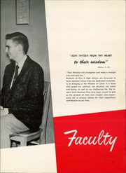 Page 15, 1956 Edition, Pius X High School - Tiara Yearbook (Downey, CA) online yearbook collection